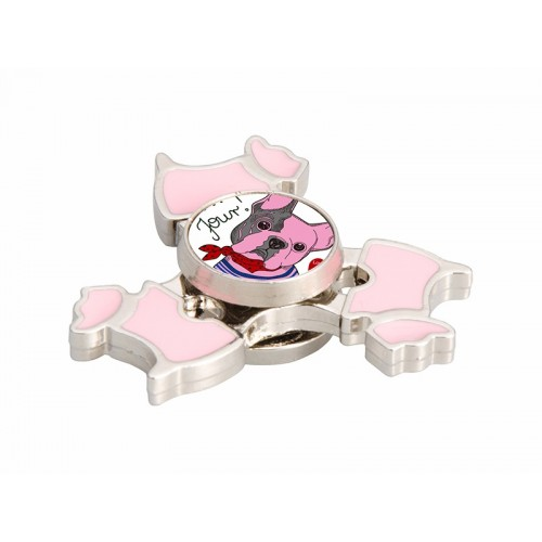 Fidget Spinner(Dog, Pink)