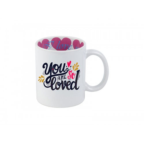 11oz Motto Mug(I LOVE YOU)