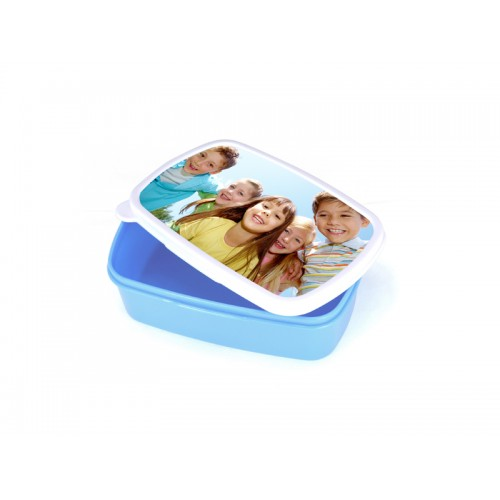 Plastic Lunch Box (Light Blue) with insert