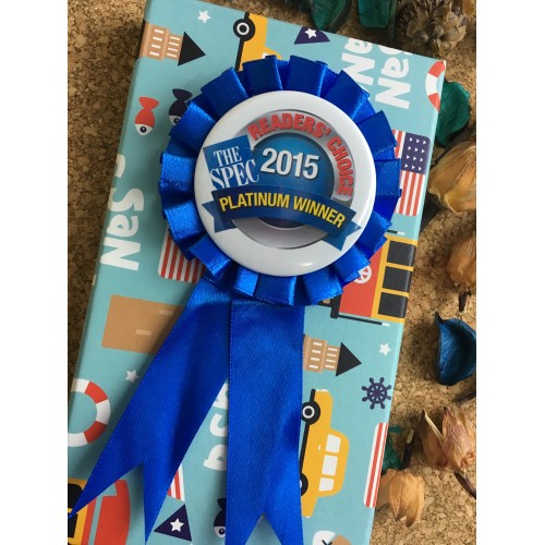 Photo Badge Award Ribbon