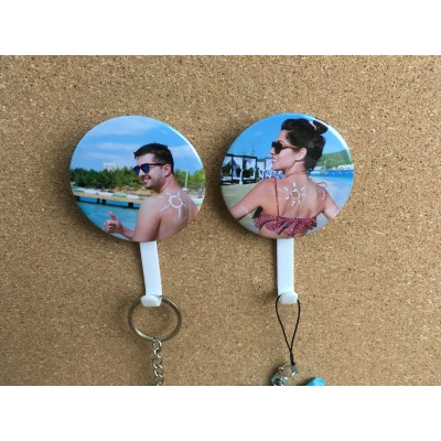 Photo Badge HANGING HOOK With Suction