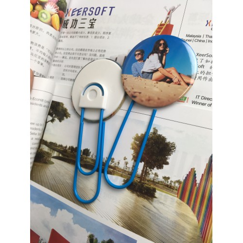 Photo Badge Bookmark