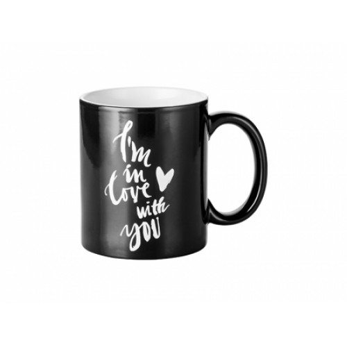 Magic Mug Engrave - Love