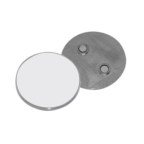 Fridge Magnet (Metal, Round)