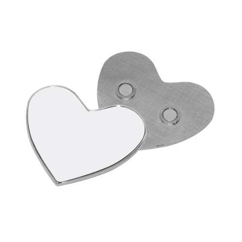 Fridge Magnet (Metal, Heart)