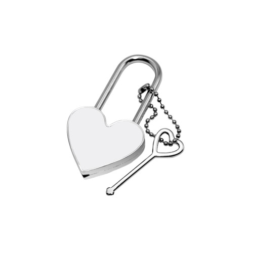 Metal Lock (Heart)
