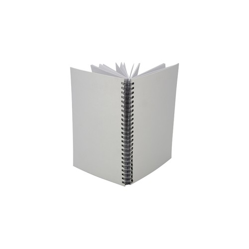 A5 Wiro Fabric Notebook